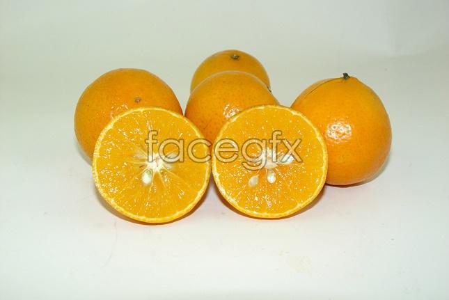 Fruits tribute Orange picture material