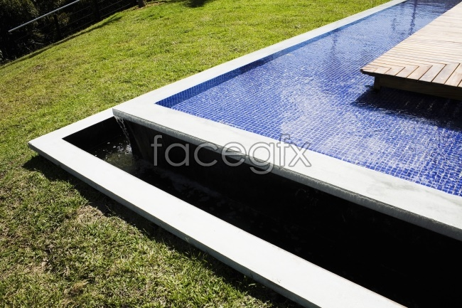 Grass outdoor swimming pool picture