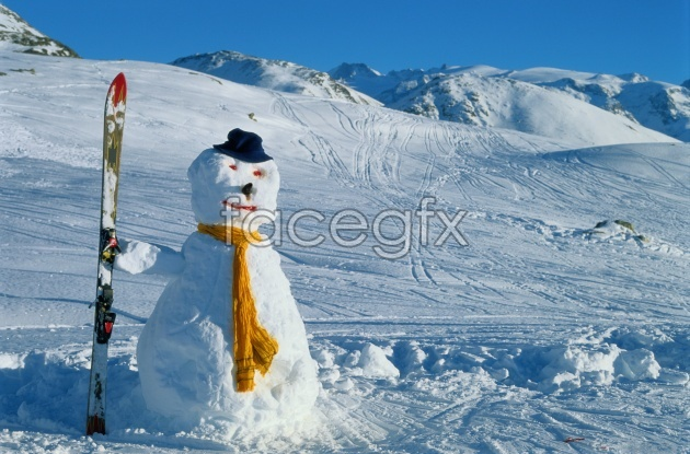 HD snowman pictures
