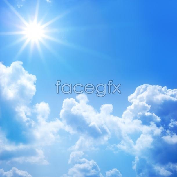Blue Sky HD material