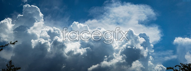 Blue Sky scenery picture