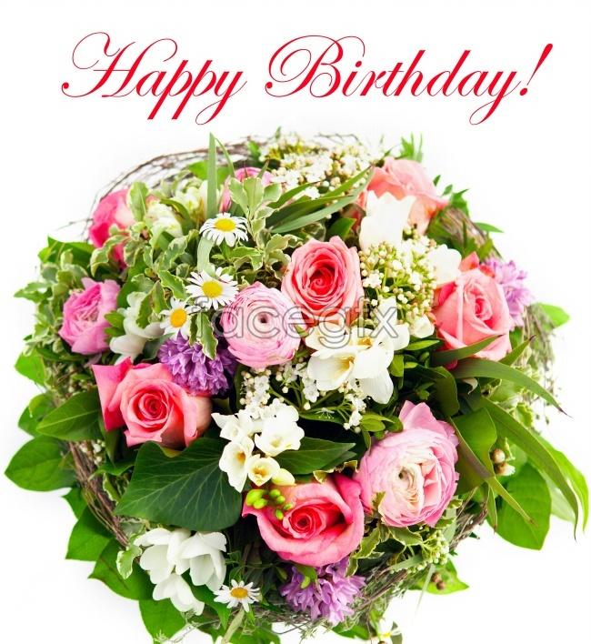 Birthday flower picture