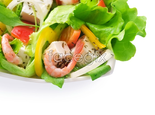 Delicious meals material picture