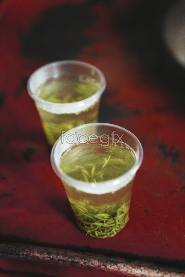 Green tea picture