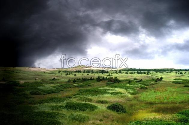 HD cloud landscape picture
