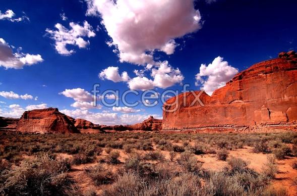 Desert sky scenery picture