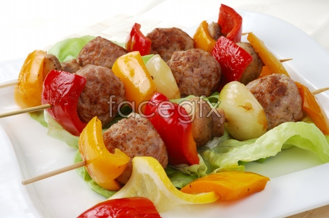 HD meatballs BBQ pictures