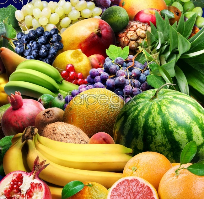 Tropical fruit high definition pictures