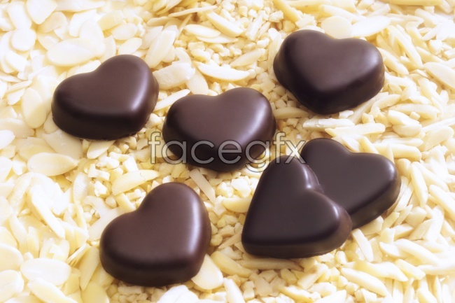 Valentine's day chocolate picture