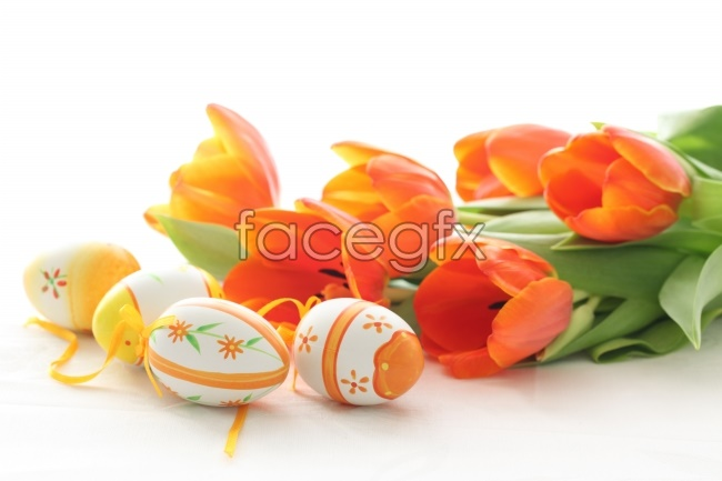 Beautiful Tulip Easter egg picture