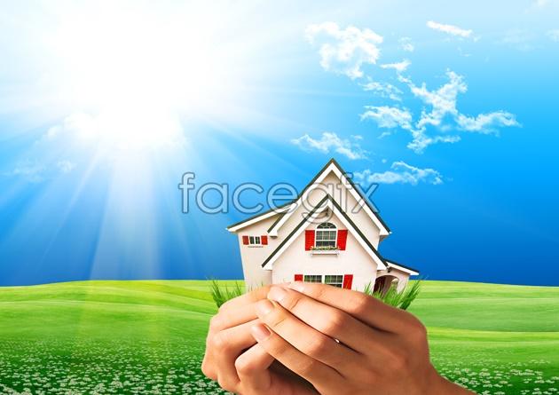 HD Sun lawn picture