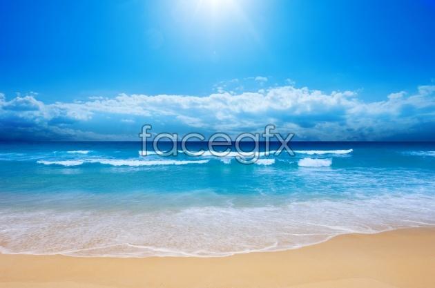 Blue sea picture