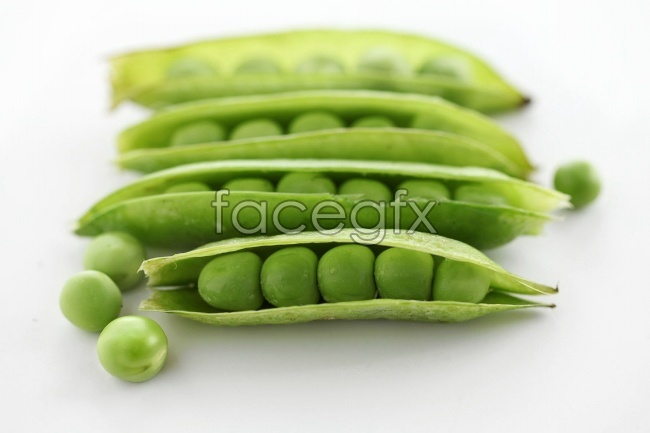 Fresh vegetables peas HD pictures