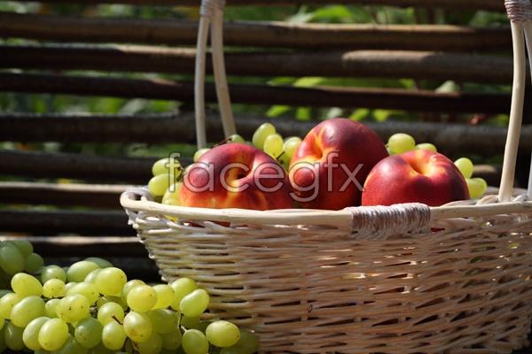 High definition grape Apple pho