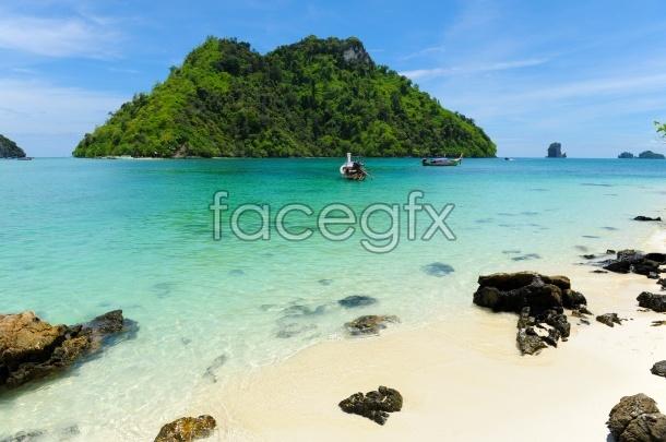 HD blue sea picture