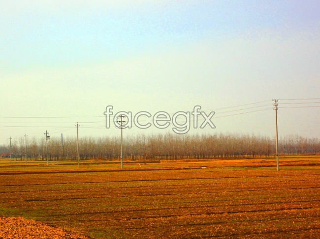 HD autumn fields pictures