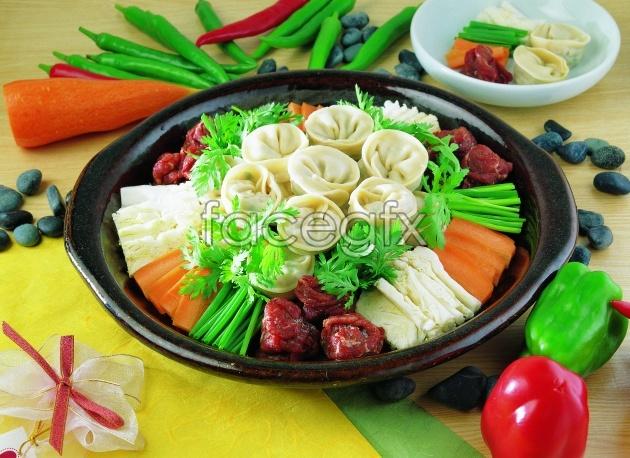 HD hot-pot dish picture