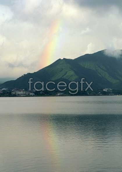 HD sea rainbow pictures