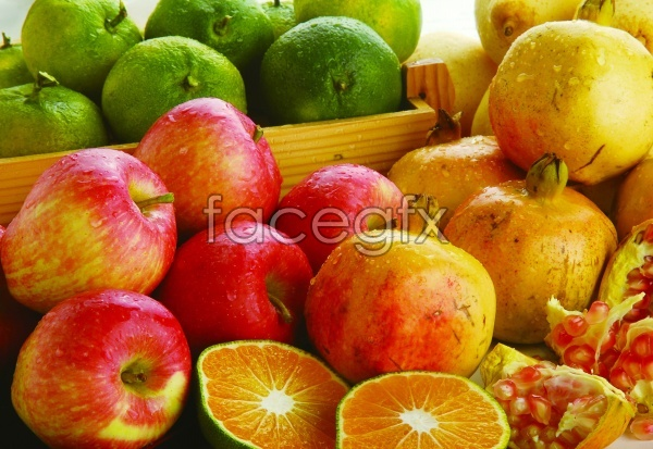 HD fruit material picture