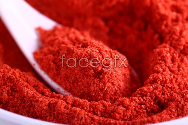 High-definition picture red grains