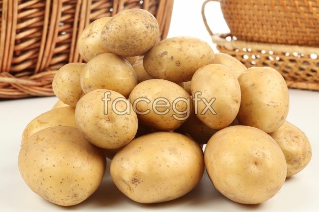 A bunch of potatoes picture HD