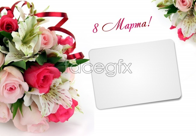 Valentine's day flower cards pictures