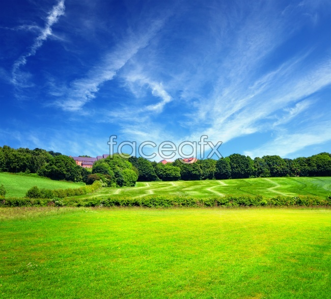 Beautiful and idyllic landscape pictures