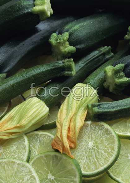 Fresh fruits and vegetables, 95