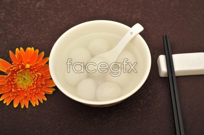 Lantern Festival to eat dumpling picture