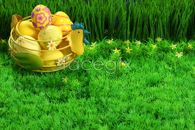 Lawn egg material picture