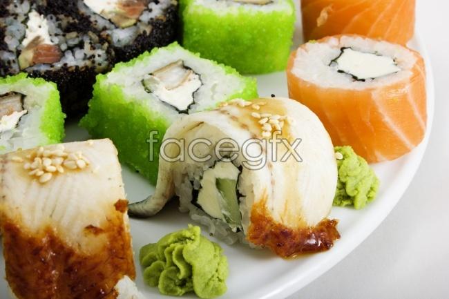 Salmon sushi food photos