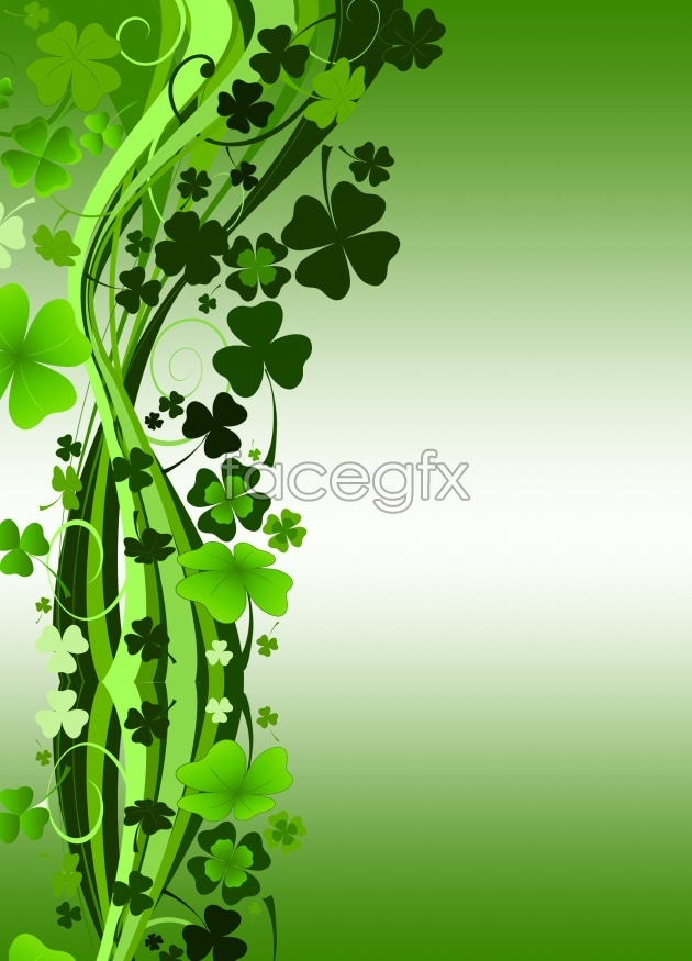 Beautiful four leaf clover pictures