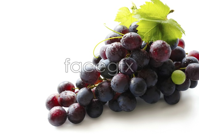 Fresh grapes picture