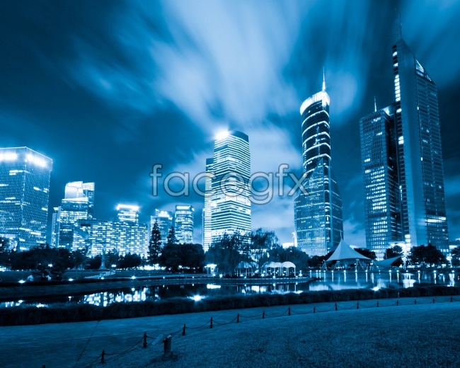HD city night view pictures