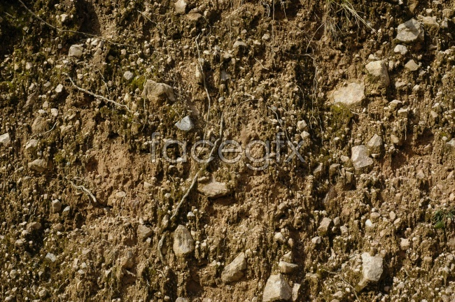 Soil clay picture