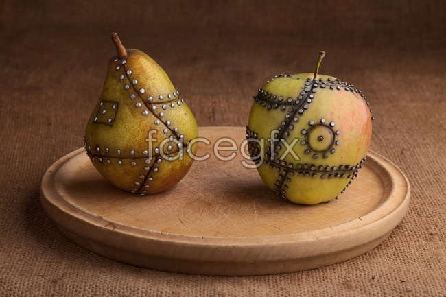 Creative technology Mandar in Orange fruit picture material