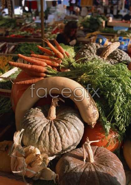 Fresh fruits and vegetables, 310