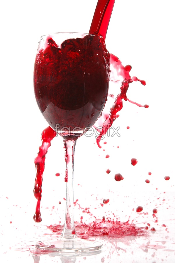 France red wine picture