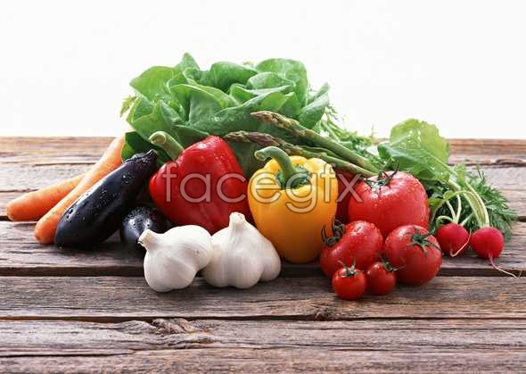 Fresh fruits and vegetables, 440