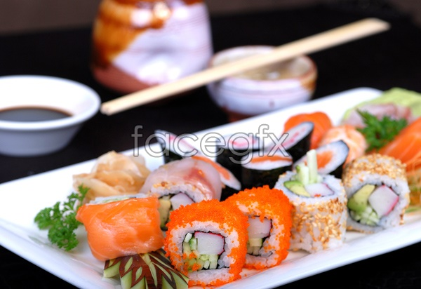 HD delicious sushi pictures