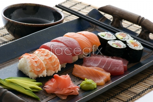 Japan delicious sushi HD pictures