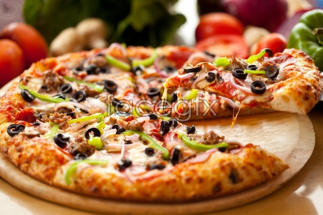 Western cuisine pisagaoqing pictures
