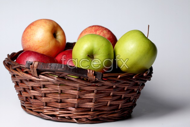 HD Apple basket pictures
