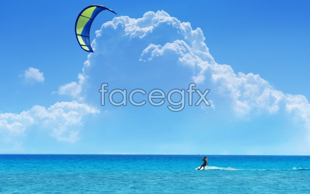 Hi-def Ocean desktop wallpaper