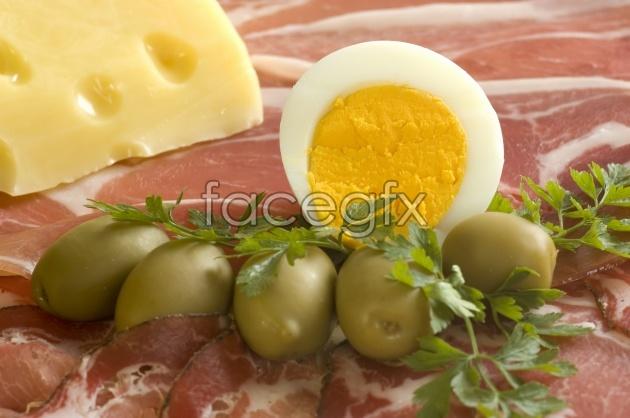 Western food Cuisine ingredients picture