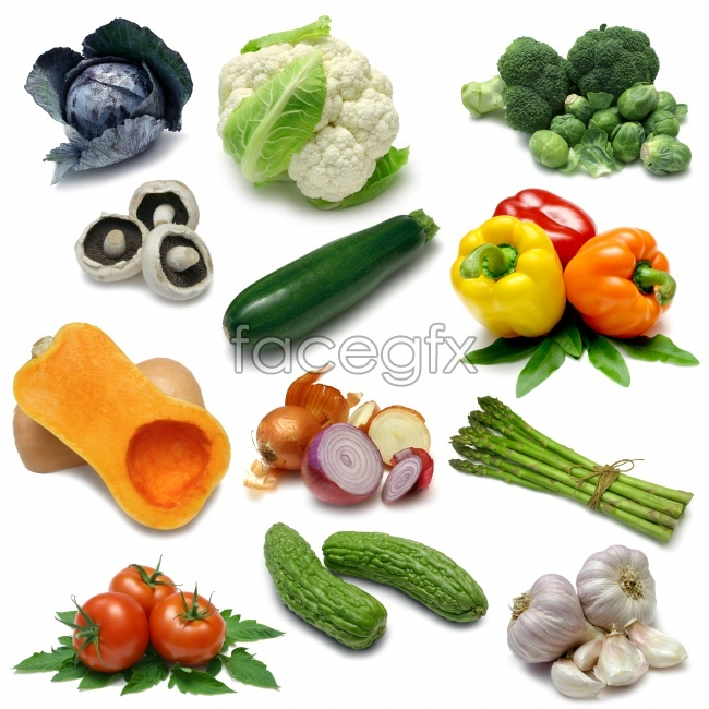 Fresh vegetable HD pictures