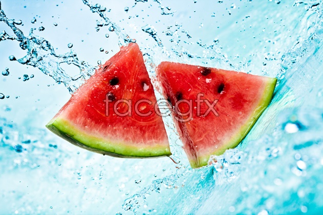 HD water watermelon pictures