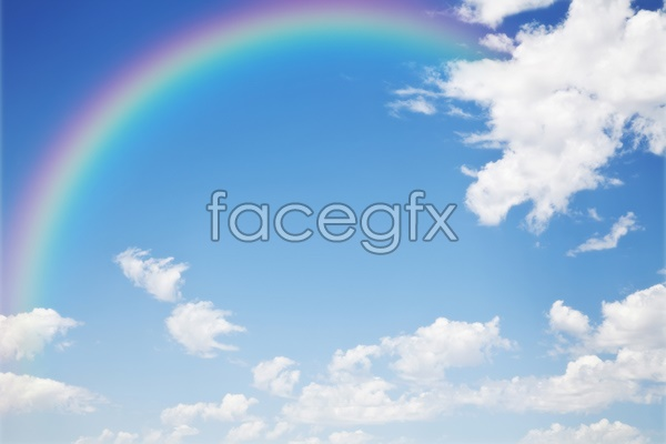 HD Rainbow sky pictures