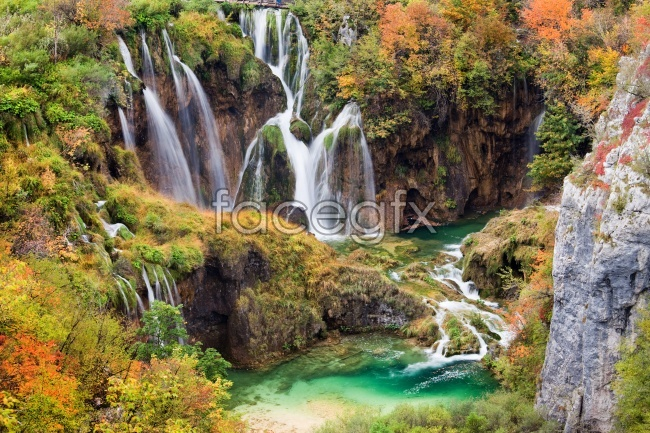 Paradise falls, high definition pictures
