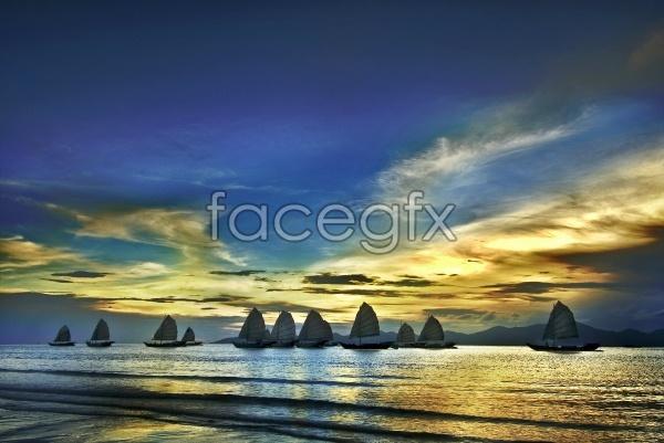 Sea beautiful sky picture
